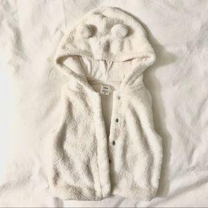 Adorable Fleece vest | 12-18mo